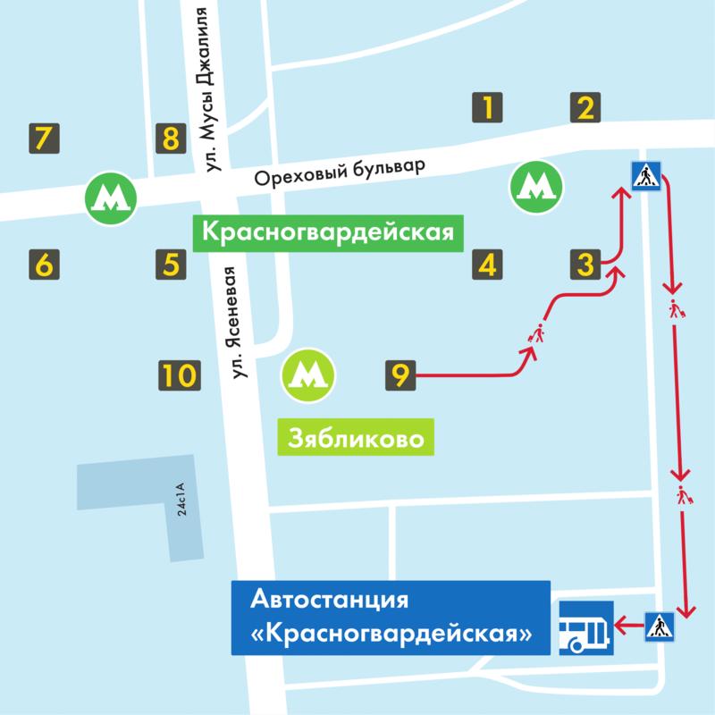 станция Красногвардейская как добраться